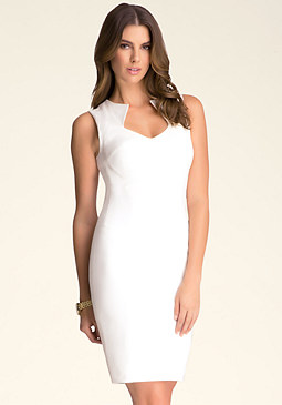 bebe Jessica Seamed Dress