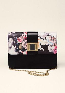 bebe Blossom Crossbody Bag