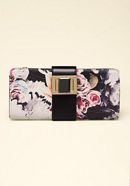 bebe Blossom Wallet