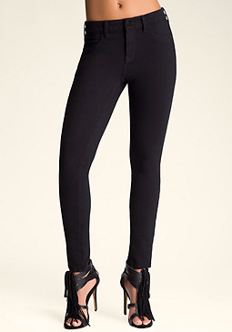 5 Pocket Jeggings at bebe
