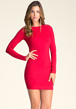 Long Sleeve Bodycon Dress at bebe