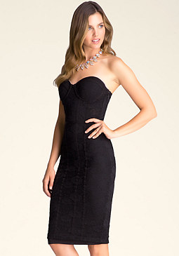 Petite Hook & Eye Dress at bebe