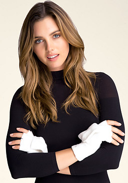 bebe Logo Convertible Gloves