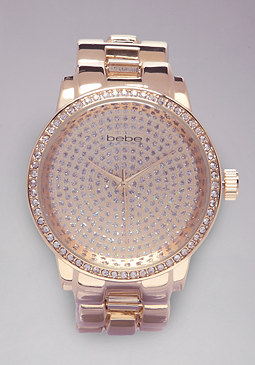 bebe Leopard Watch
