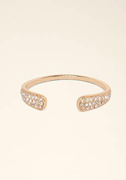 Open Crystal Cuff at bebe