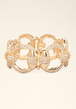 Chainlink Stretch Bracelet at bebe