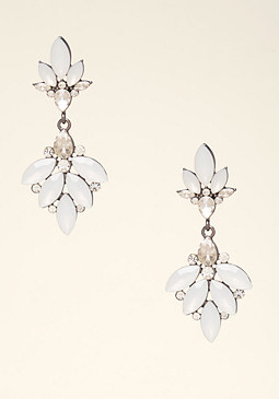 Petal Drop Earrings at bebe