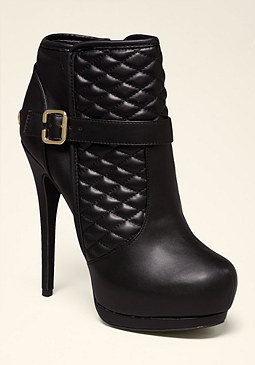 bebe Stacee Quilted Booties