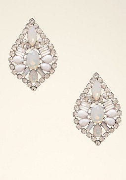 bebe Opal Stone Earrings