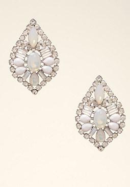 bebe Opal Stone Earrings