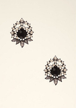 Starburst Stud Earrings at bebe