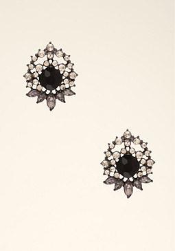 Starburst Stud Earrings at bebe