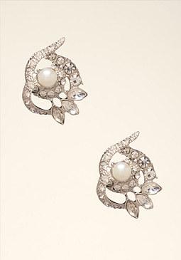 bebe Swirl Stud Earrings