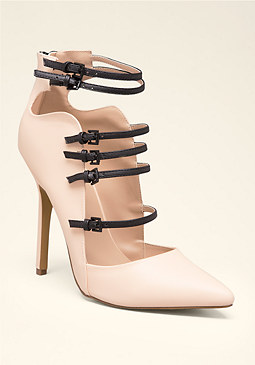 bebe Emelda Pointy Toe Pumps
