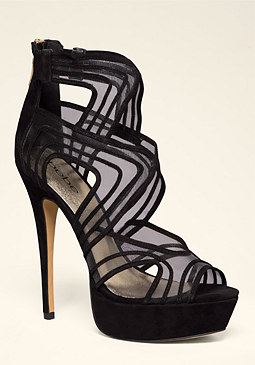 bebe Layney Mesh Sandals