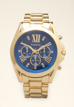bebe Colorful Boyfriend Watch