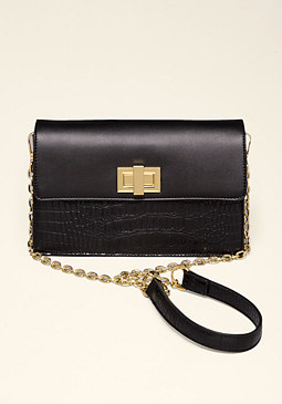bebe Elin Exotic Crossbody Bag