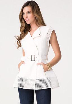 Janet Trench Vest at bebe
