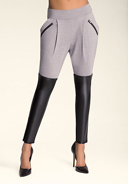 bebe Colorblock Atlas Leggings