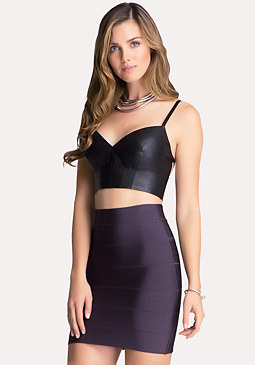 Strap Back Bra Top at bebe