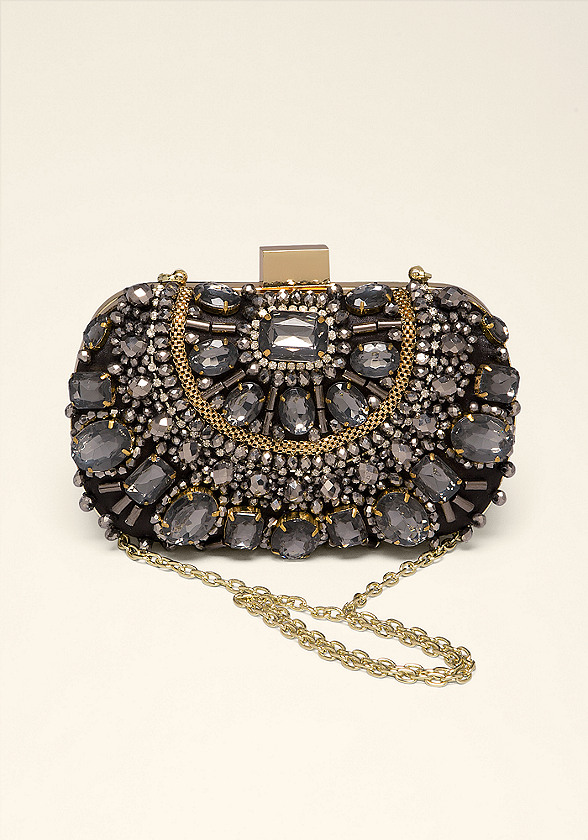 Natalia Jeweled Minaudiere