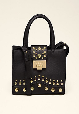 bebe Saffiano Crossbody Bag