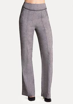 bebe Addison Linen Trousers