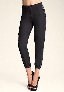 bebe High-Waist Seamed Pants