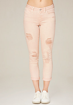 Ripped Heartbreaker Jeans at bebe