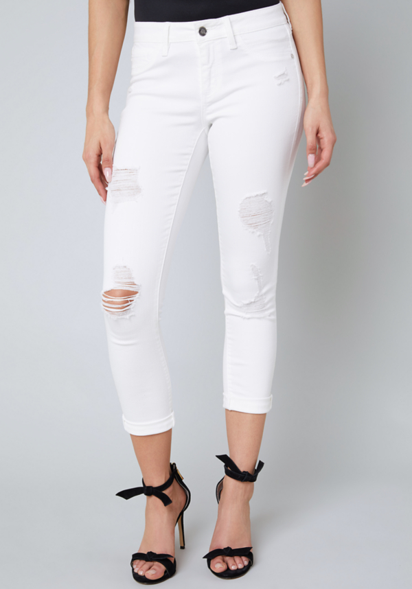 Ripped Heartbreaker Jeans at bebe in Sherman Oaks, CA | Tuggl