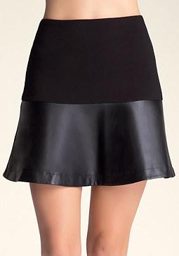 bebe Fit & Flare Skirt