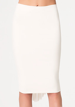 bebe Fishtail Midi Skirt