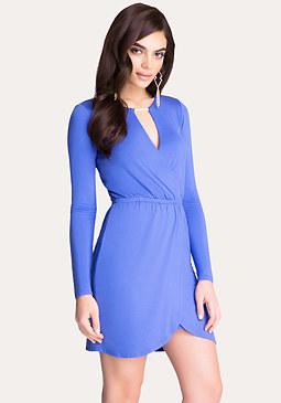 bebe Jersey Wrap Dress