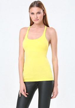 bebe The New Racerback Tank