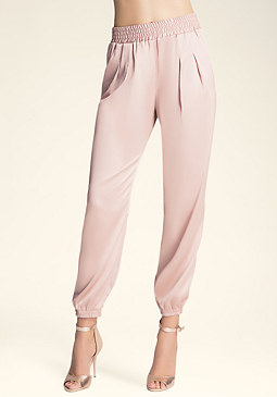 bebe Piped Side Detail Pants