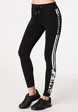 bebe Logo Heat Leggings