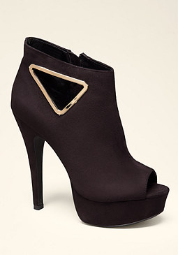 bebe Nora Cutout Booties