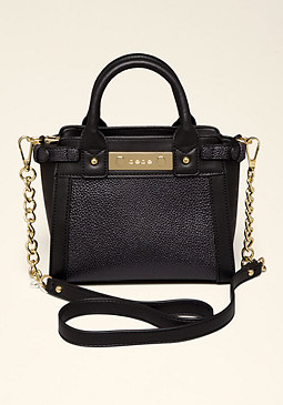 bebe Taryn Belted Crossbody Bag