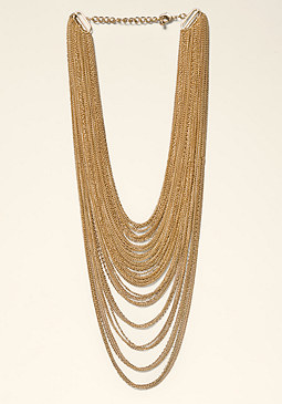 bebe Multi-Chain Necklace