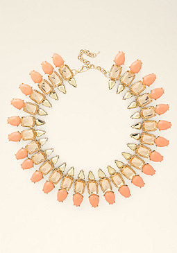 bebe Triple Row Necklace