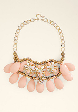 bebe Layered Statement Necklace