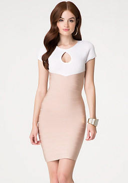 bebe 2-Fer Bandage Dress