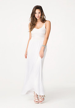 bebe 2-Fer Maxi Dress