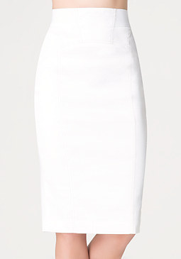 bebe Neve Desert Pencil Skirt
