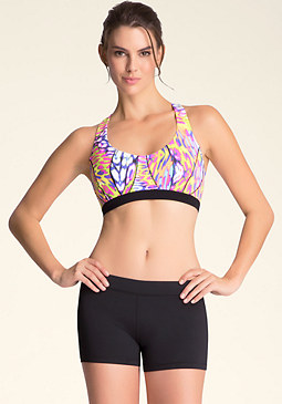 bebe Pretty Kitty Sports Bra