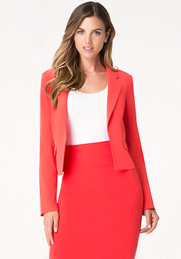 bebe Notched Lapel Jacket