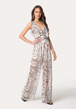 Triple Layer Jumpsuit at bebe