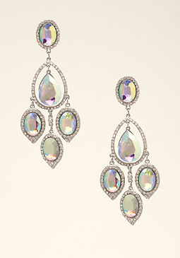 bebe Chandelier Earrings