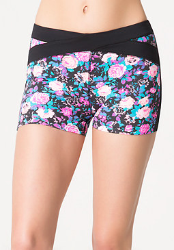 bebe Pop Floral Boyshorts