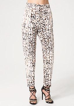 bebe Tuck Front Pants